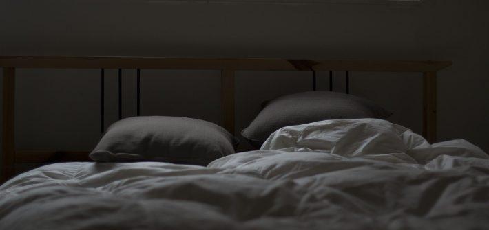 Improve your sleep. Room with modern aesthetic