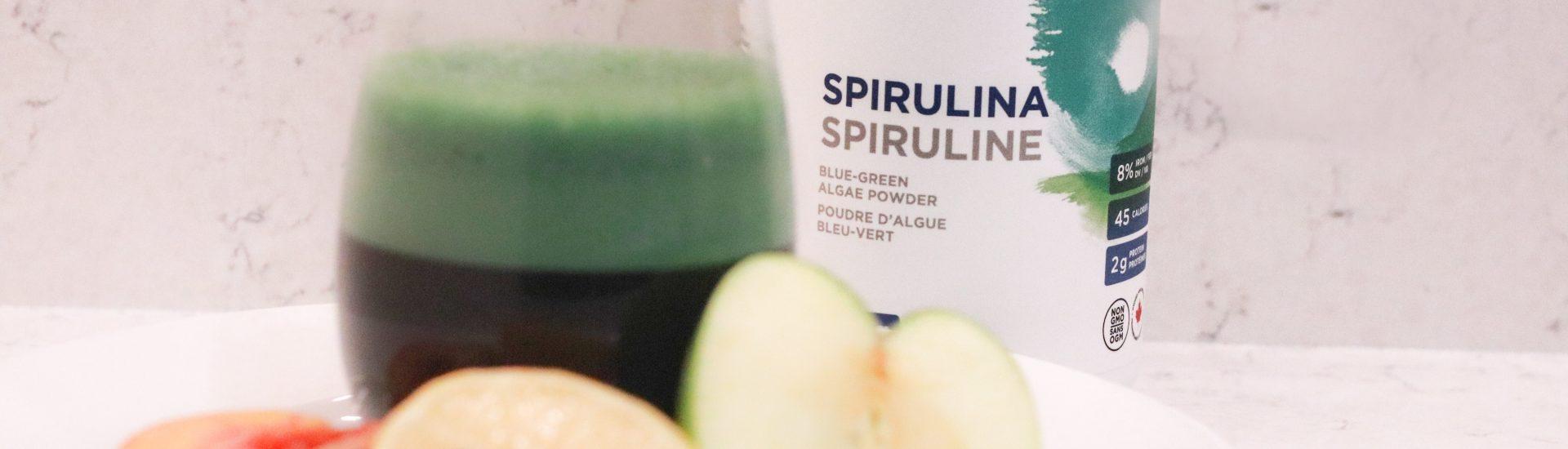 spirulina green smoothie recipe.